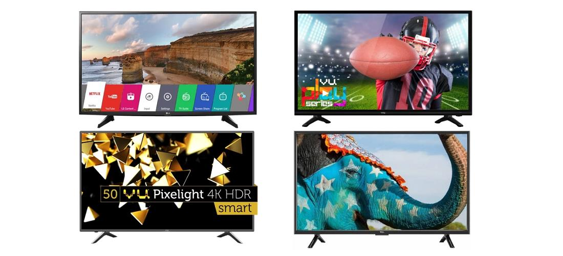 Picture of 10 Best LED TVs in India 2019 (24 to 55 inch TVs Under 10000 to 50000)